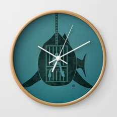 Steven Spielberg's JAWS Wall Clock