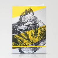 brocken mountain Stationery Cards