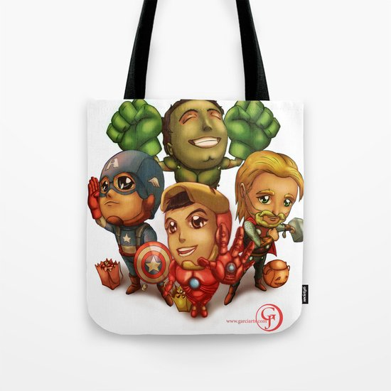 Earth's Mightiest Trick or Treaters Tote Bag