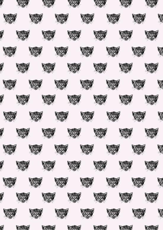 Polka Cat Art Print