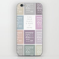 Find Your Place iPhone & iPod Skin