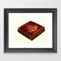 The Book PRINT Framed Art Print