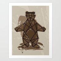 Gimme A Hug! Art Print