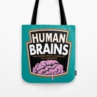 Human Brains Tote Bag
