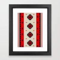 Romanian Pattern Framed Art Print