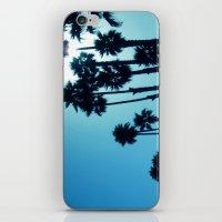 Santa Cruz - Blue  iPhone & iPod Skin