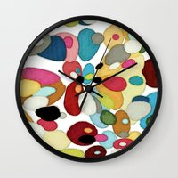 The River Bed Wall Clock