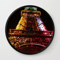 Parisian Mosaic - Piece … Wall Clock