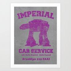 Imperial Car Service Art Print