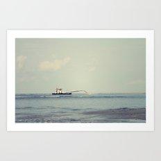 Oak Island  Art Print
