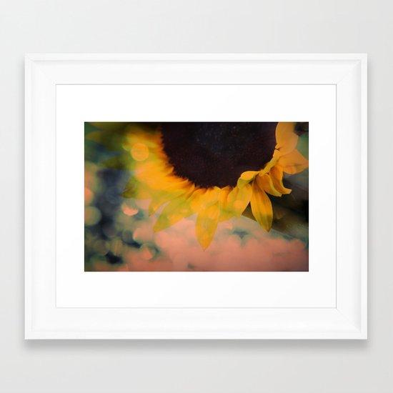 Sunflower II (mini series) Framed Art Print