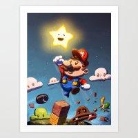 Super Brother Art Print