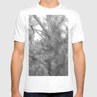 Treeage I - BW Mens Fitted Tee White SMALL