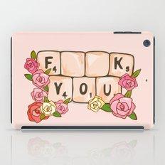 F **U  YOU iPad Case