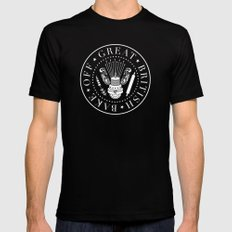 Great British Bake Off SMALL Black Mens Fitted Tee