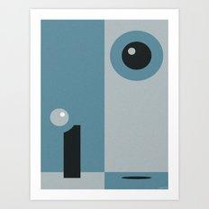OUT YONDER Art Print