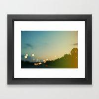 Paint the Night Framed Art Print