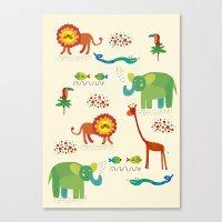 Animals1 Canvas Print