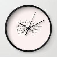 LUCKY - WINNIE THE POOH … Wall Clock