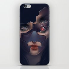Under her skin III iPhone & iPod Skin