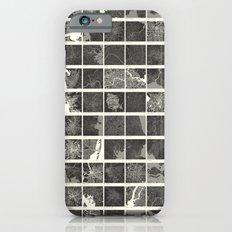 World Cities Maps iPhone 6 Slim Case