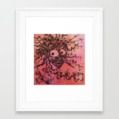 The king of shadows Framed Art Print