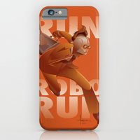 RUN ROBO RUN iPhone 6 Slim Case
