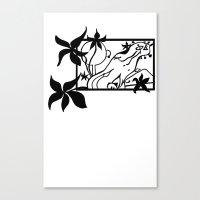 Octo Tee Shirt Canvas Print