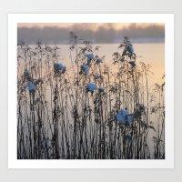 Lake Impressions 2 Art Print
