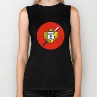 Gryffindor House Crest I… Biker Tank