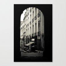 Parisian Doorway Canvas Print