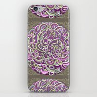 Detailed circlecorner, purple olive  iPhone & iPod Skin