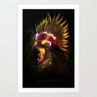 VOODOO METAL Poster Art Print