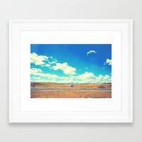 California Central Valley Framed Art Print