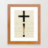Aztec+ ! Framed Art Print