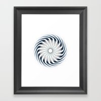 Circle Study No.6 Framed Art Print
