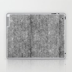 Stockinette Black Laptop & iPad Skin
