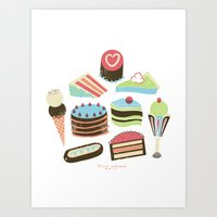 Too Sweet! Art Print