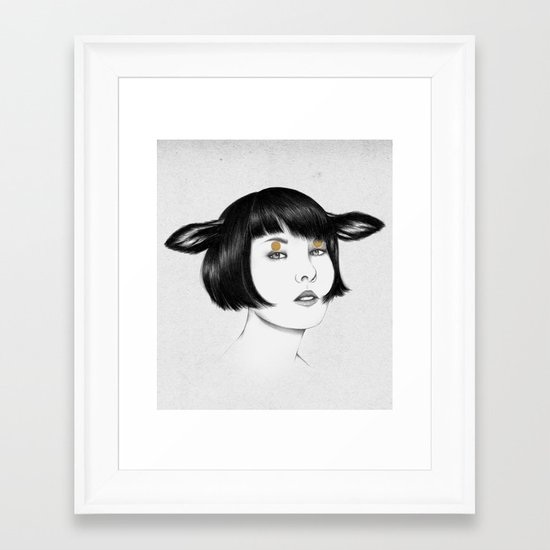 Cirque Framed Art Print