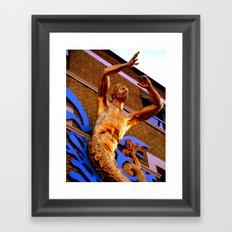 Triton Framed Art Print