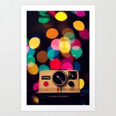 Have A Very Bokeh Christmas... Art Print