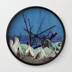 Arapaho Brave Wall Clock