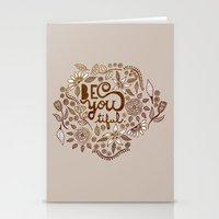 Be You Tiful (gold Editi… Stationery Cards