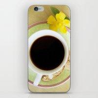 Coffee Time 3 iPhone & iPod Skin