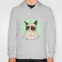 Grumpy cat love Hoody