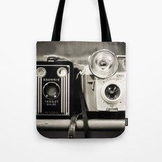 A pair of Kodak Brownies  Tote Bag
