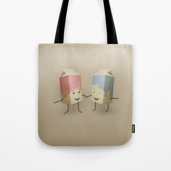 I only have pasteurised for you Tote Bag