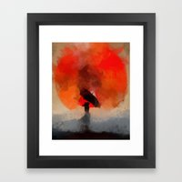 umbrellaliensunshine: atomicherry winter! Framed Art Print