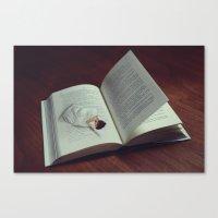 DREAM PAGES Canvas Print