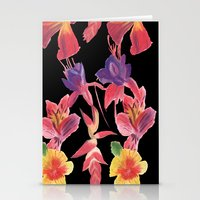 Tropical Print Stationery Cards